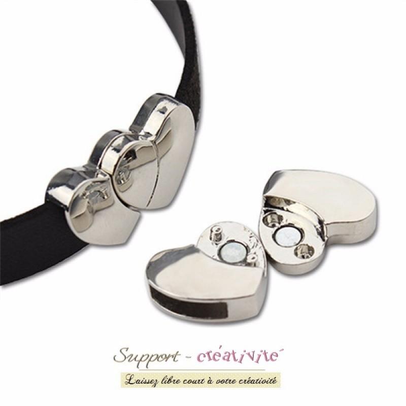 Fermoir magnétique pour bracelet