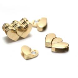 Fermoir magnétique pour bracelet - doré
