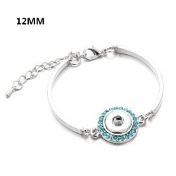 Bracelet support bouton-pression