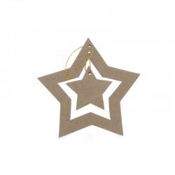 Etoile-double-de-Noël-en-carton-decoration