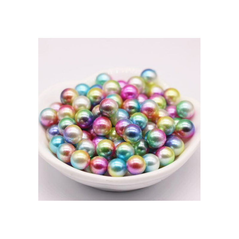copy of Perles acryliques multicolores 6-8 mm