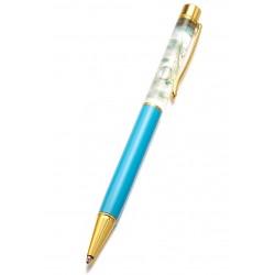 stylo avec des fleurs à l'intérieur support-creativite.com