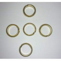 Mailles/entre-deux-ronde- de-matière-synthétique ± 25mm (trou ± 17mm)-support-creativite.com