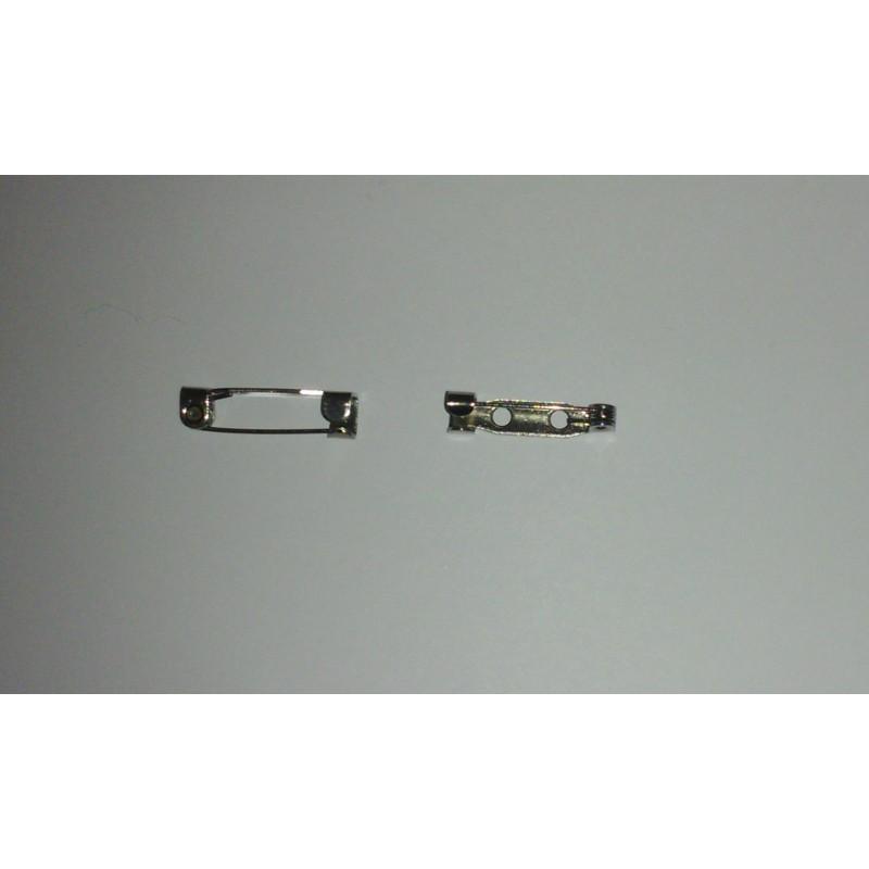 Épingle broche en métal ( acier inoxydable ) 19x5mm support-creativite.com