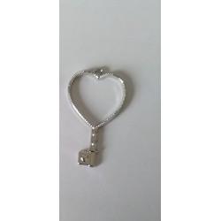 https://support-creativite.com - Pendentifs ouvert pour résine en métal coeur 43x25mm
