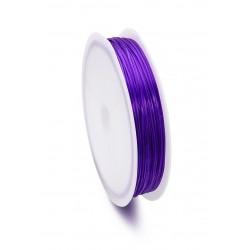 Fil-de-nylon-élastique- plat-0,8mm-(12 mètre par rouleau)-https://support-creativite.com/