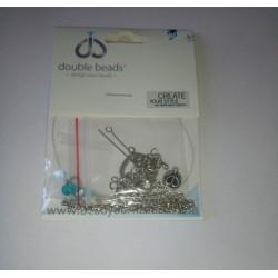 Mini Kit de Bijoux collier ± 46-53cm avec SWAROVSKI ELEMENTS
